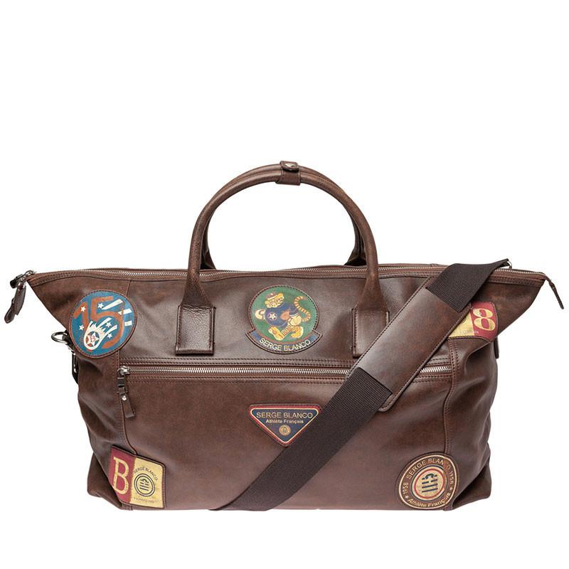 sac voyage weekend marron