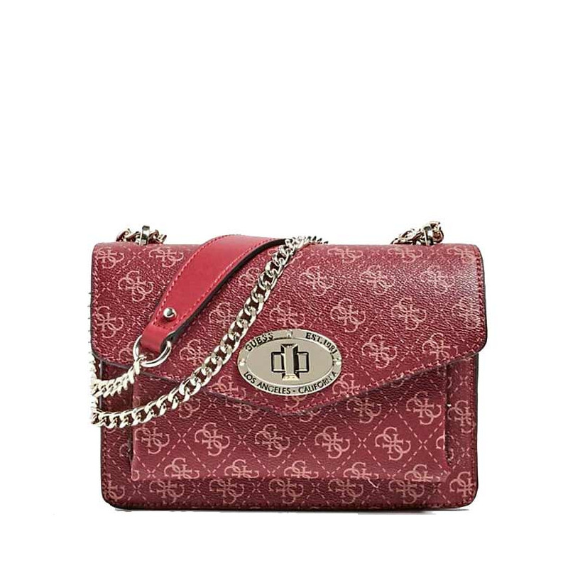 Guess Aline Sac Bandouliere Merlot