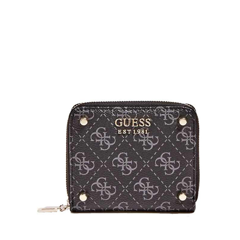 Guess Aline Portefeuille Compact Coal