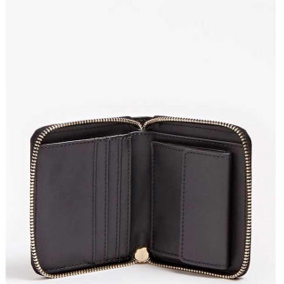Guess Chrissy Portefeuille Compact Black