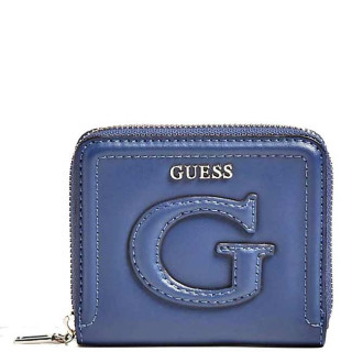 Guess Chrissy Portefeuille Compact Navy