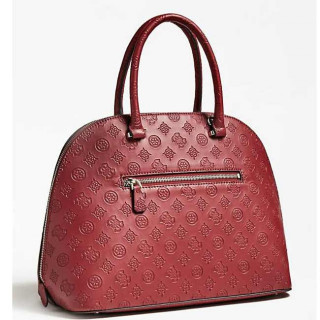 Guess Janelle Sac A Main Dome Merlot