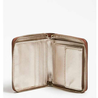 Guess Robyn Portefeuille Compact Cognac