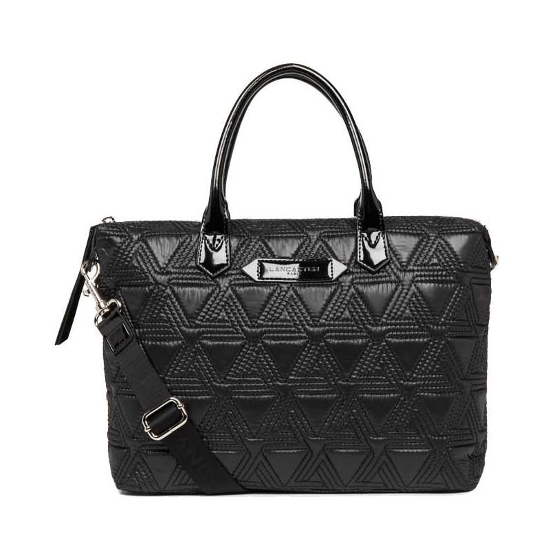 Lancaster Actual Matelassé Sac Shopping 518-53 Noir