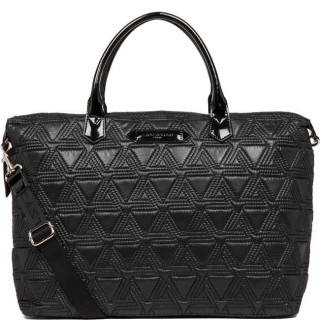Lancaster Actual Matelassé Grand Sac Shopping 518-54 Noir