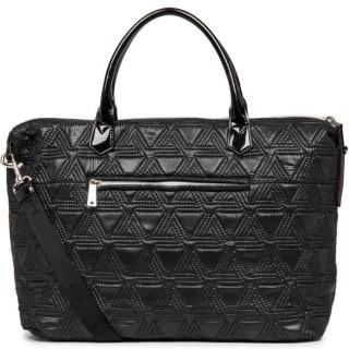 Lancaster Actual Matelassé Grand Sac Shopping 518-54 Noir dos