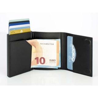 Ogon Porte Cartes Cascade Wallet Full Black