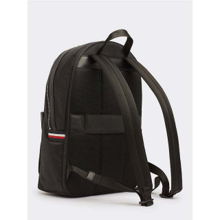 Tommy Hilfiger Elevated Sac à Dos à Bande Emblématique Black