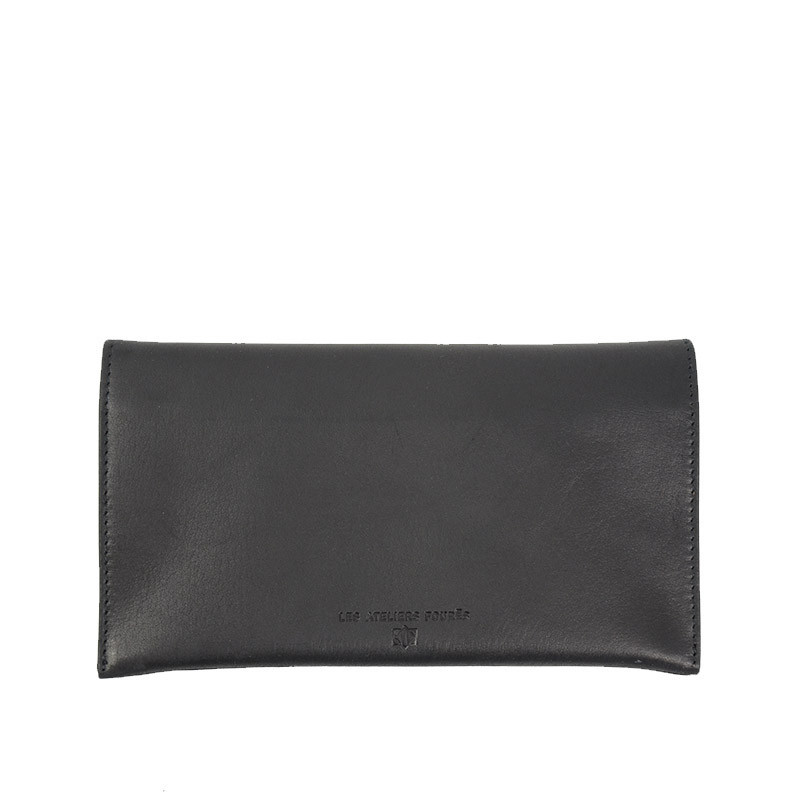 portefeuille femme noir