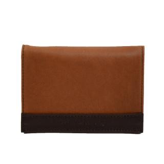 portefeuille homme cuir marron