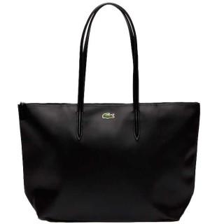 Lacoste Grand Sac Cabas Zippé L12.12 Black