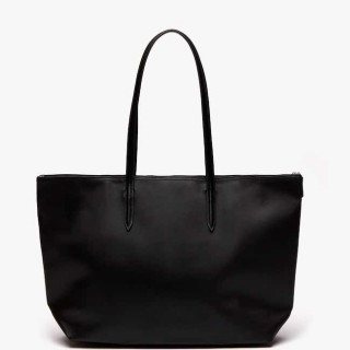 Lacoste Grand Sac Cabas Zippé L12.12 Black