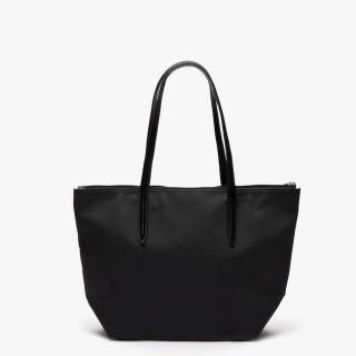 Lacoste Sac Cabas Zippé L12.12 Black
