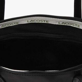 Lacoste Sac Cabas Zippé L12.12 Black ouvert