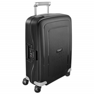 Samsonite S'Cure Spinner 55 cm Valise Cabine Trolley 4 Black