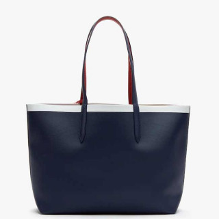 Lacoste Sac Cabas Reversible Anna Peatcoat Pompelan Red Mars dos