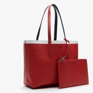Lacoste Sac Cabas Reversible Anna Peatcoat Pompelan Red Mars face 2