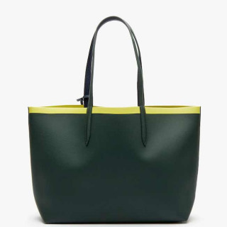 Lacoste Sac Cabas Reversible Anna Scarab Peatcoat Green Shee