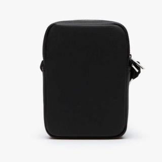 Lacoste Classic Men's Sacoche Zippée Verticale Noir