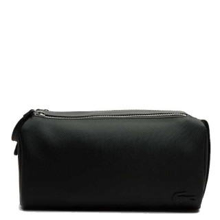 Lacoste Classic Men's Trousse de Toilette Double Zip Noire