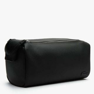 Lacoste Classic Men's Trousse de Toilette Double Zip Noire