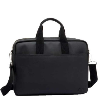 "Lacoste Men's Classic sac pour Pc portable 17"" Black"