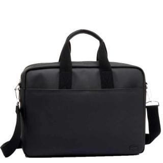 """Lacoste Men's Classic sac pour Pc portable 17"""" Black"""