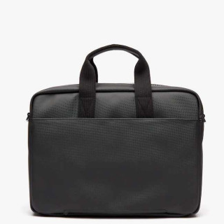 "Lacoste Men's Classic sac pour Pc portable 17"" Black DOS"