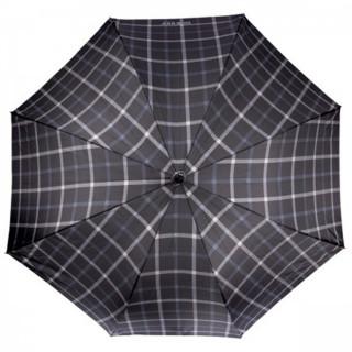 Isotoner Parapluie Canne Carreaux Homme