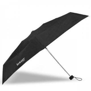 Isotoner Parapluie Mini Pliant Manuel Noir cote