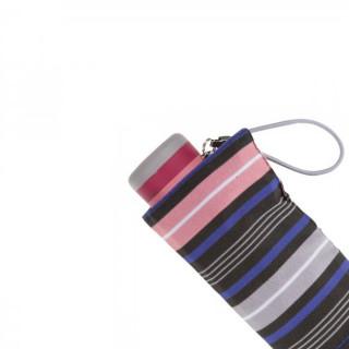 Isotoner Parapluie Mini Pliant Rayure Arpege