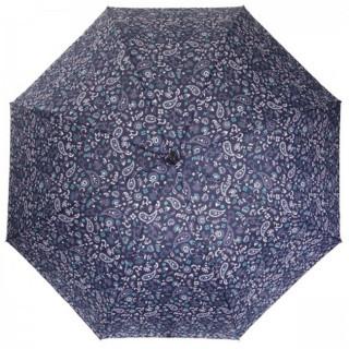Isotoner Parapluie Mini Pliant Automatique Bandana Bleu face