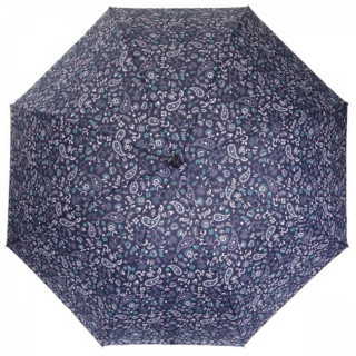 Isotoner Parapluie Mini Pliant Automatique Bandana Bleu cote