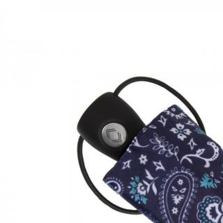 Isotoner Parapluie Mini Pliant Automatique Bandana Bleu 8