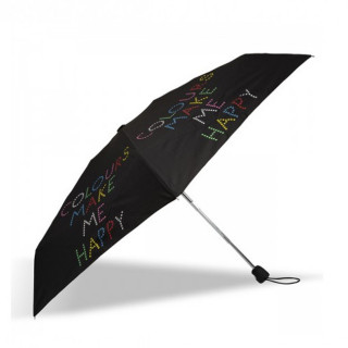 Isotoner Parapluie Mini Pliant Automatique Happy