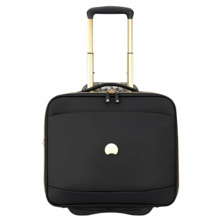 "Delsey Montrouge Pilote Case Cabine Protection PC 15.6"" Noir"