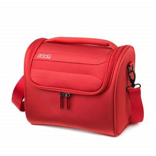 vanity case femme rouge