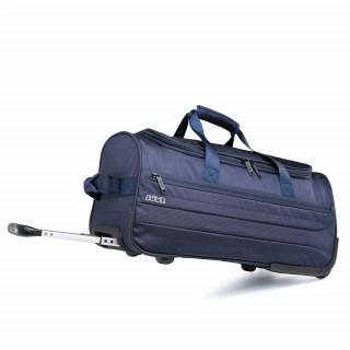 sac cabine a roulette bleu marine