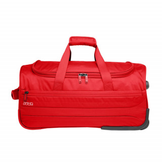 valise souple cabine à roulette rouge
