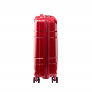 valise cabine femme rouge