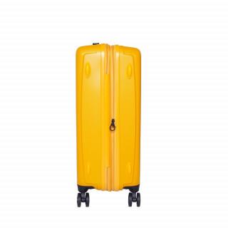 valise rigide jump jaune
