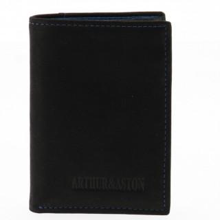 Arthur et Aston Chic & Casual  Portecarte 94-100 Noir Bleu