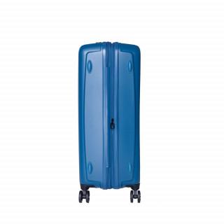 valise rigide large bleu