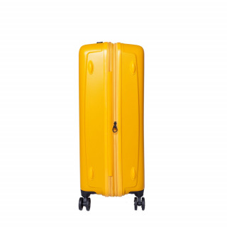 valise rigide large jaune jump