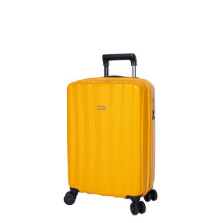Jump Tanoma Valise Cabine Universelle 4 Roues 55cm Extensible Ambre