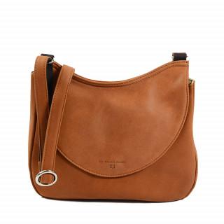 sac femme porté travers fauve