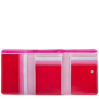 Mywalit Portefeuille 3 Volets Cuir Nappa 57 Ruby ouvert