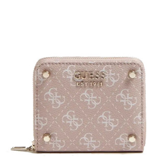 Guess Aline Portefeuille Compact Rosewood