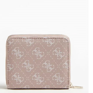 Guess Aline Portefeuille Compact Rosewood dos