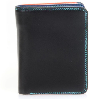 Mywalit Portefeuille Zip Moyen Cuir Nappa Black Pace